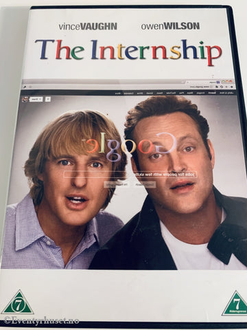The Internship. 2013. Dvd. Dvd