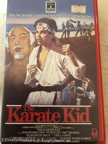 The Karate Kid. Engelsk. Vhs Big Box.