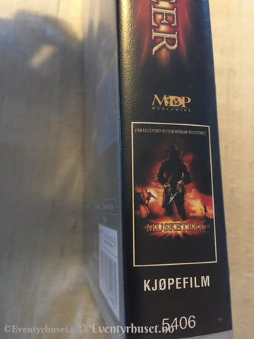The Musketeer. 2001. Vhs. Vhs
