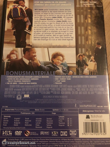 The Pursuit Of Happyness. 2006. Dvd. Dvd