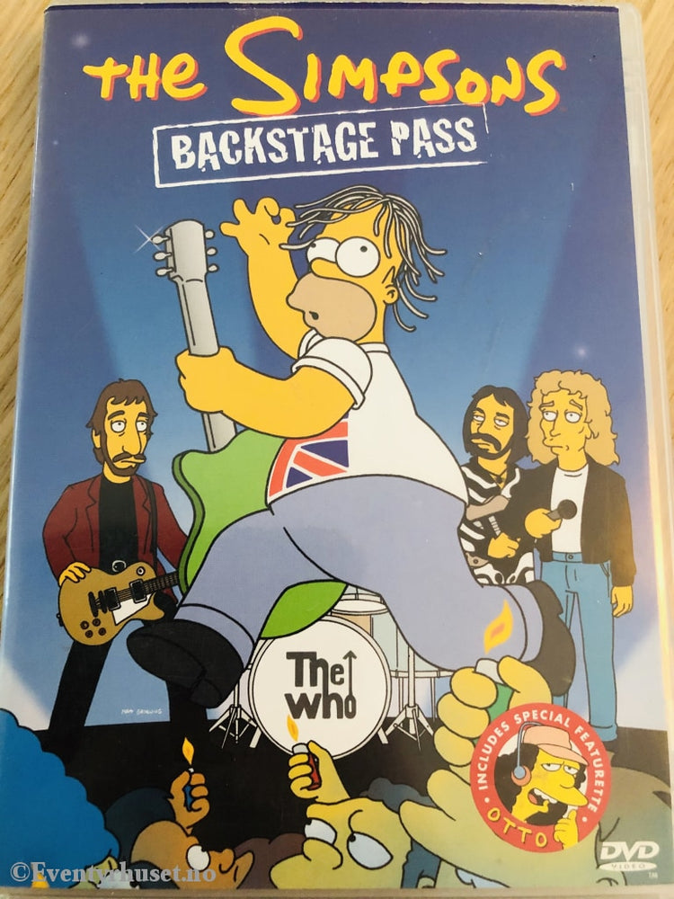 The Simpsons. Backstage Pass. 1992-2001. Dvd. Dvd