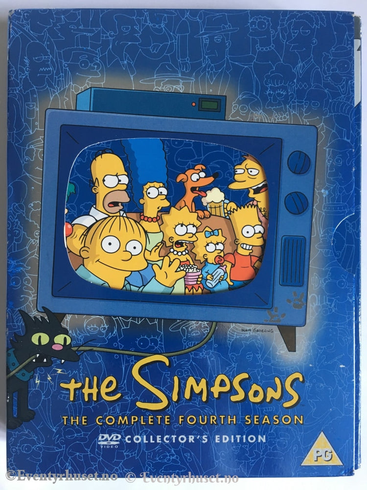 The Simpsons. Complete Fourth Season. Dvd. Dvd