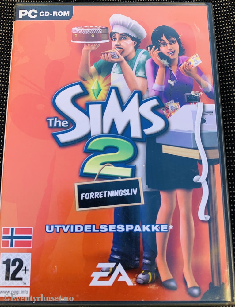 The Sims 2 - Forretningsliv. Pc-Spill. Pc Spill