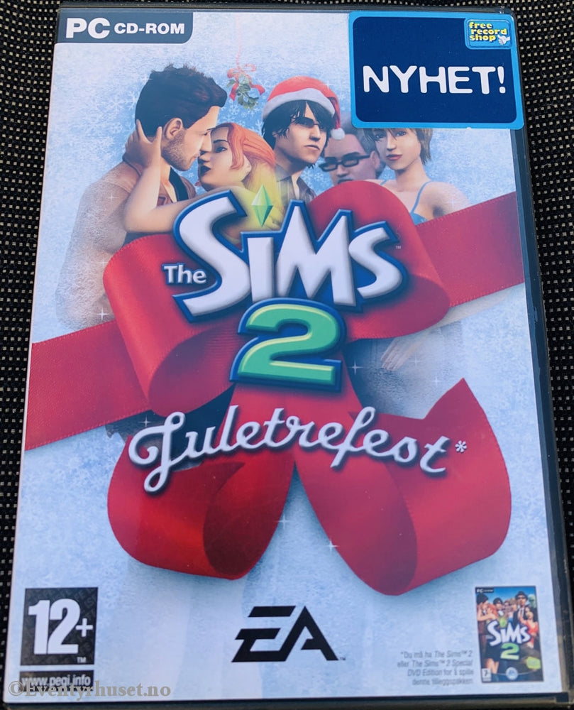 The Sims 2 - Juletrefest. Pc-Spill. Pc Spill