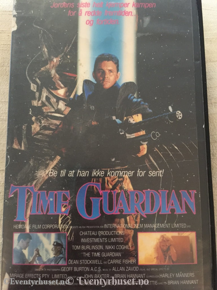 Time Guardian. Vhs Big Box.