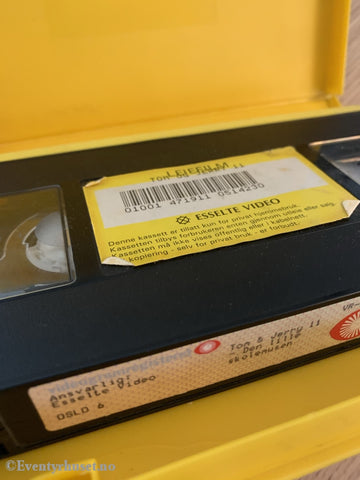 Tom & Jerry 11. 1950-67. Den Lille Skolemusen. Vhs Big Box.