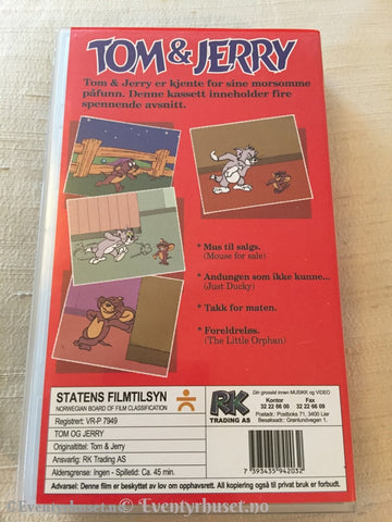 Tom & Jerry. Vhs. Vhs