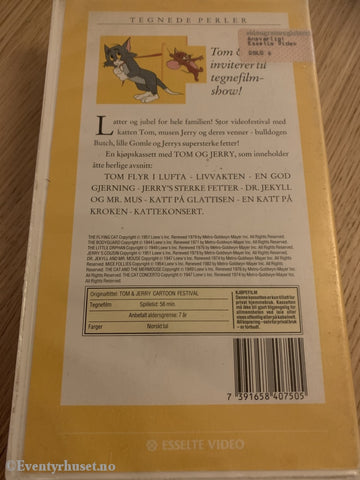 Tom Og Jerry 1. 1982. Vhs. Vhs