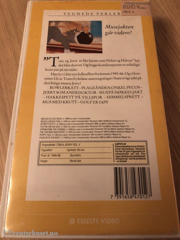Tom Og Jerry 5. Vhs. Vhs