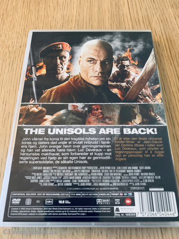 Universal Soldier - The Day Of Reckoning. Dvd. Dvd
