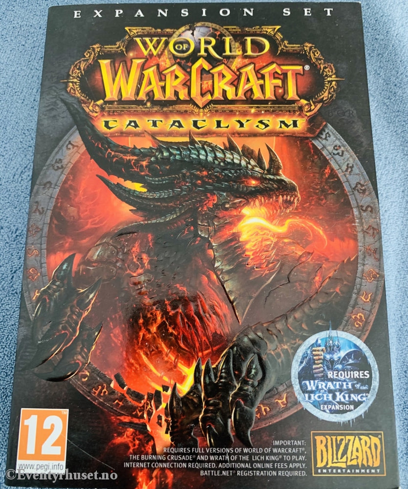 World Of Warcraft - Cataclysm. Expansion Pack. Pc-Spill. Pc Spill