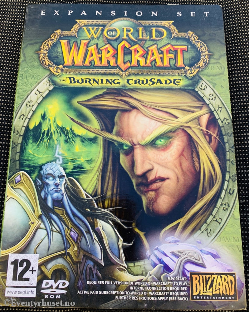 World Of Warcraft - The Burning Crusade. Expansion Pack. Pc-Spill. Pc Spill