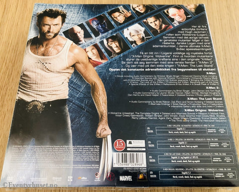 X-Men Quadrilogy. Dvd Samleboks Ny I Plast.