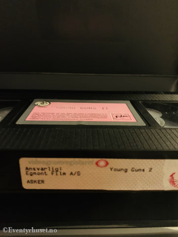 Young Guns 2. 1990. Vhs Big Box.