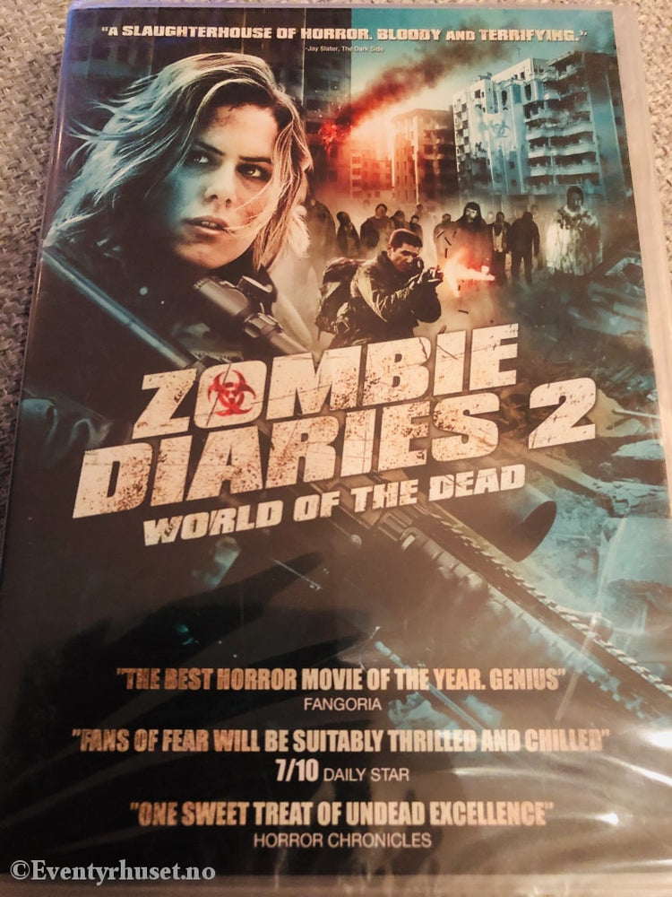 Zombie Diaries 2. World Of The Dead. 2011. Dvd Ny I Plast!
