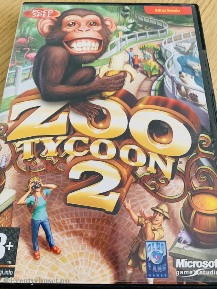 Zoo Tycoon 2. Pc-Spill. Pc Spill