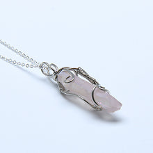 Natural Quartz Crystal Pendant