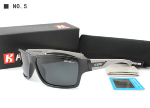 Mirrored Wrap Style Sunglasses - 100% UV Protection