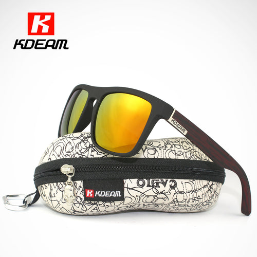 Polarized Mirrored Men's Sunglasses 100% UV Protection