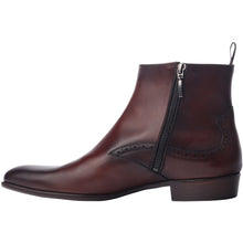 The Rico Boot in Caoba