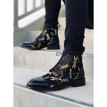 black dragonfly boot with black pants The Lu Boot