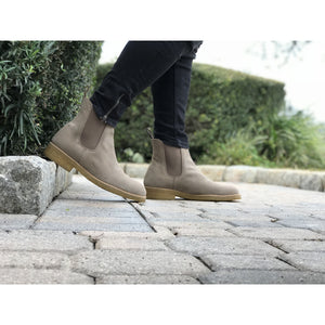 The Hernandez Boot in Smokey Taupe