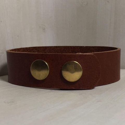 buyamedicalalert.com Personalised Leather Jenner Medical Alert ID Bracelet