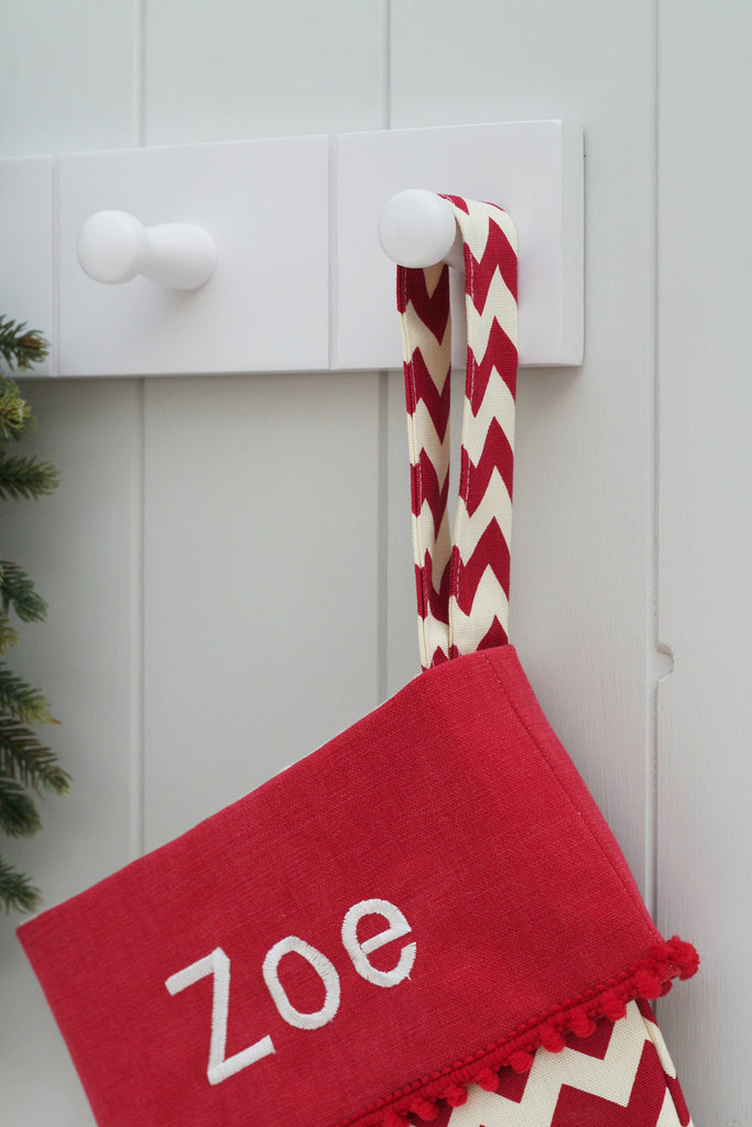Personalised Christmas Stocking Family Set - HIDE & SEEK TEXTILES