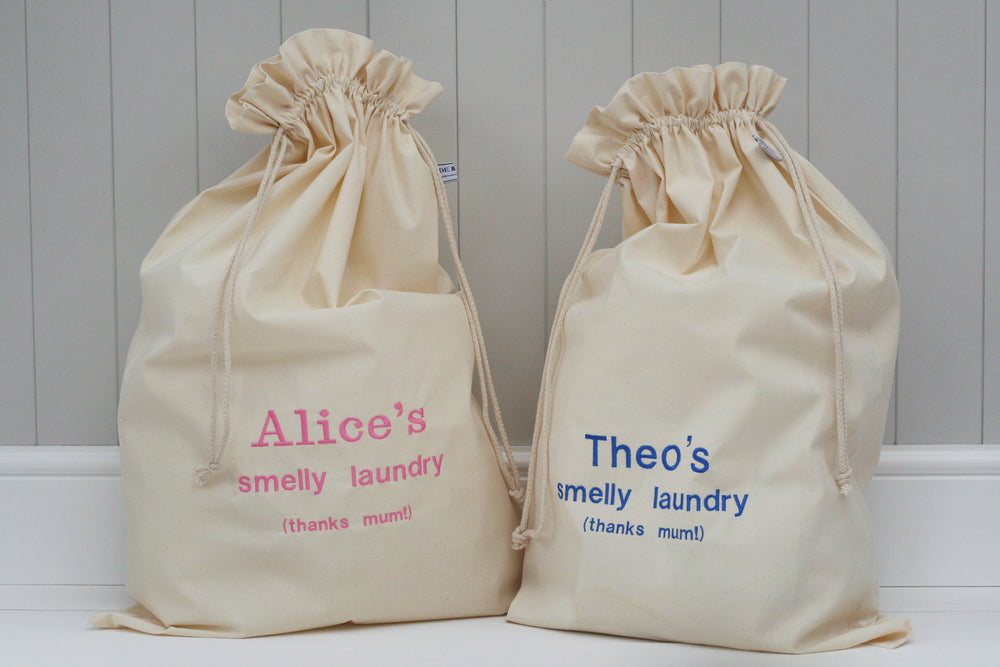 Personalised Children's Laundry Sack - HIDE & SEEK TEXTILES