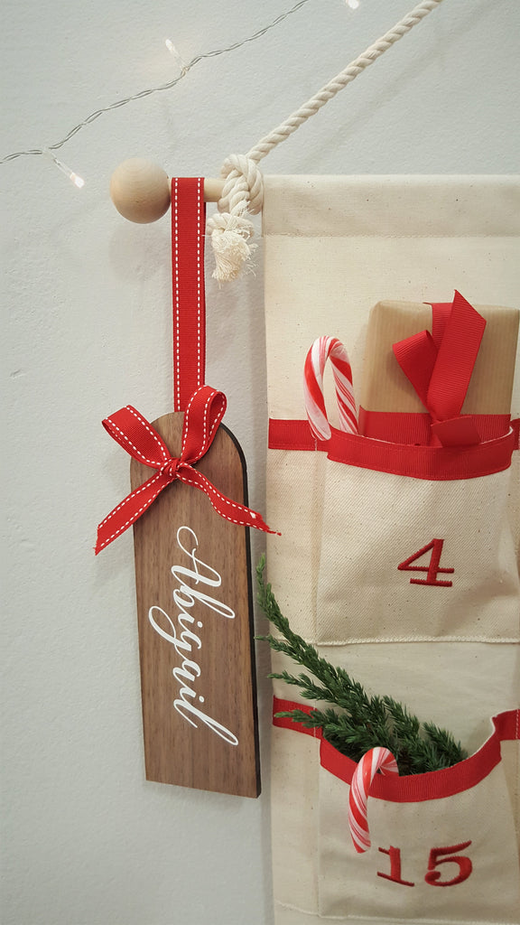 Advent Calendar - Fabric Advent Calendar - Christmas Countdown Calendar