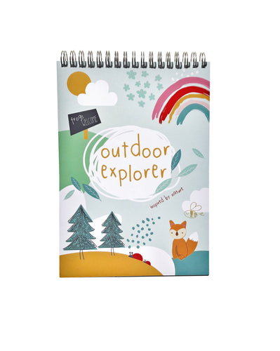 Outdoor Explorer Nature Activities Notebook
