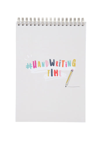 Children's Handwriting Practice Notebook (Pencil Cover)