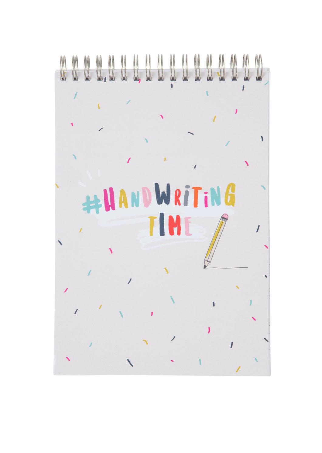 Handwriting Practice Notebook (Sprinkle Cover)