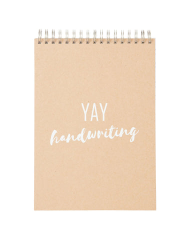 English Handwriting Practice Notebook (YAY Cover)
