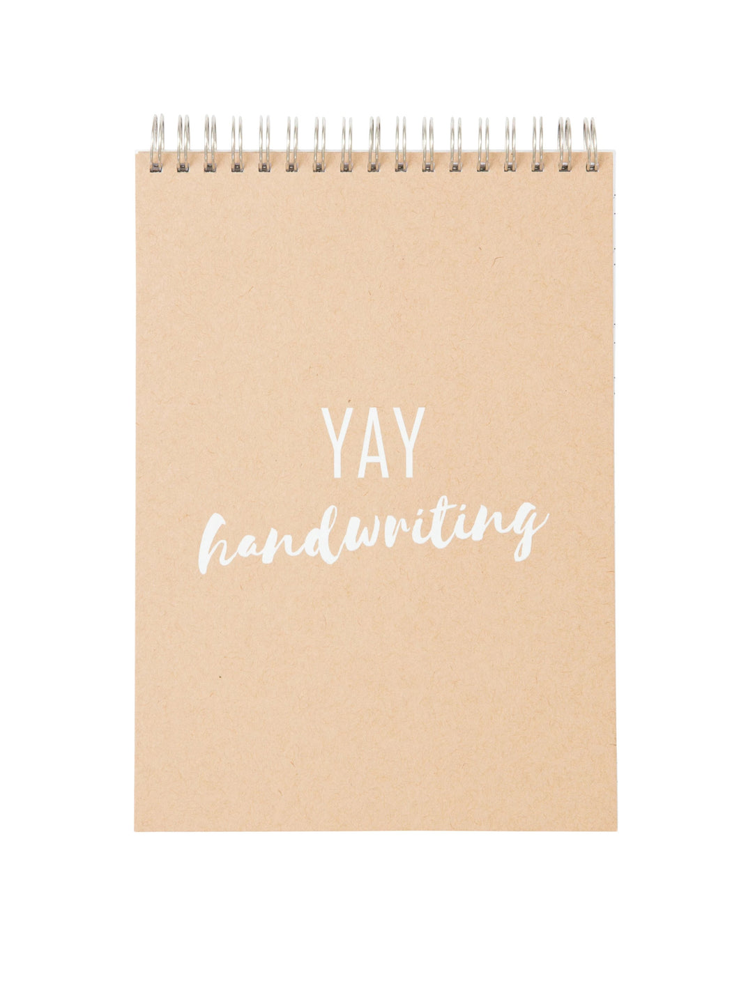 Handwriting Practice Notebook (YAY Cover)