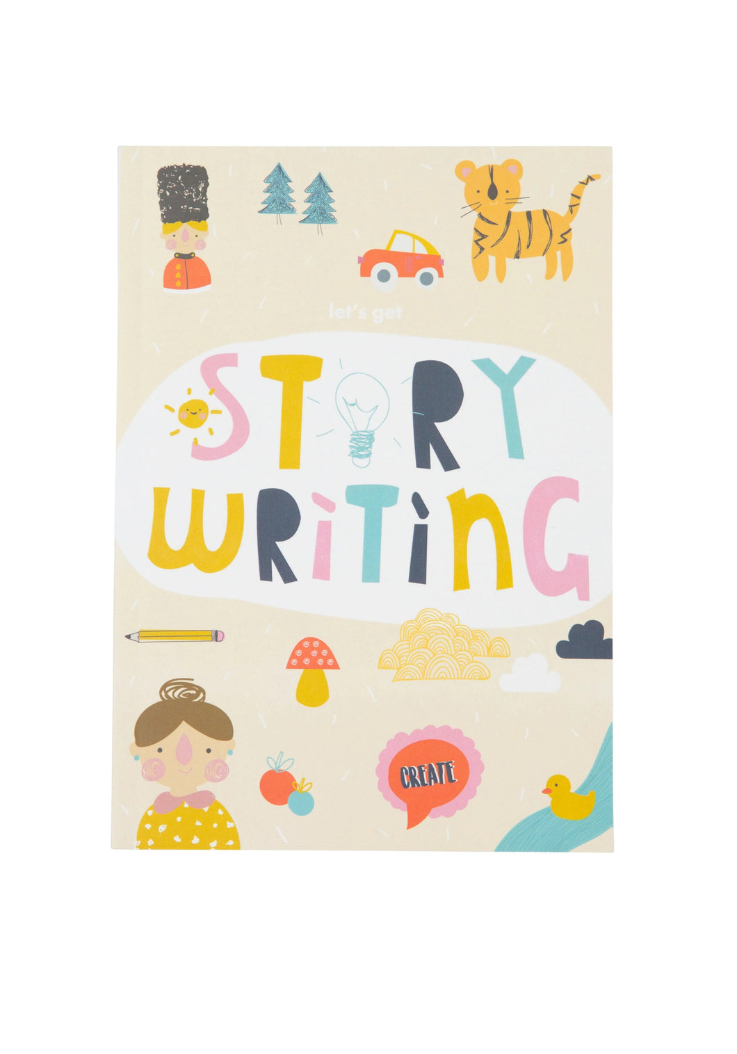 Children's Story Writing Book