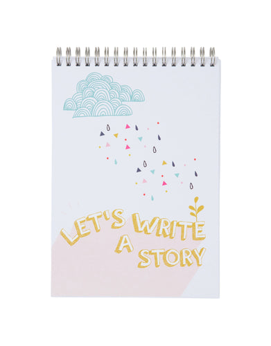 Children's Story Writing Activity Notebook