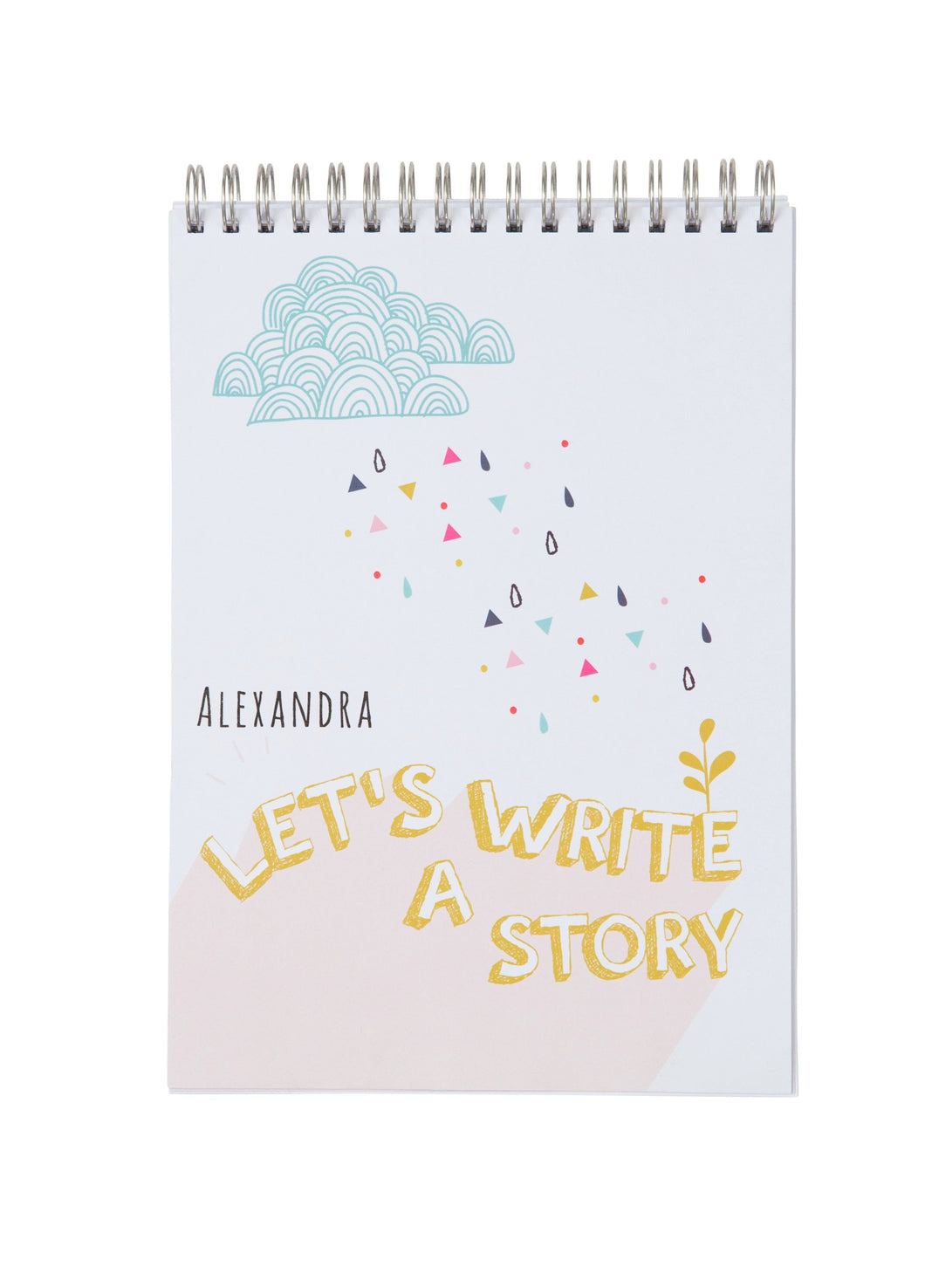 Personalised Story Writing Activity Notebook