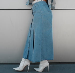 Plushy Couture Dayana Denim Skirt