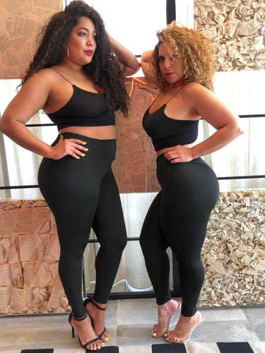 High Waisted Active leggings at Plushy Couture small - 3x