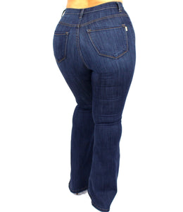 Plushy Couture Flare Jeans Regular and Plus