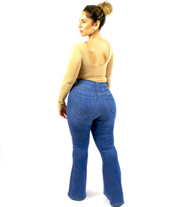 Plushy Couture Flare Jeans