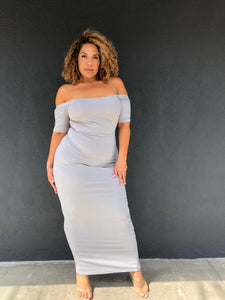 The Sophia Dress in regular and plus sizes flatters every curve only at Plushy Couture