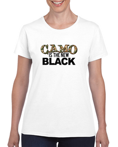 Camo Is The New Black T Shirt
