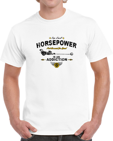 Horsepower / Feel The Need For Speed T Shirt
