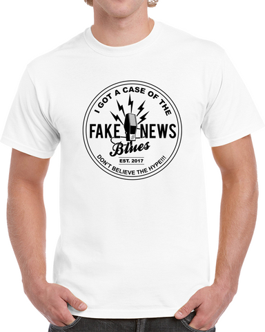 Fake News Blues T Shirt