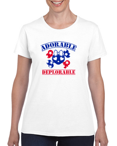 Adorable Deplorable T Shirt