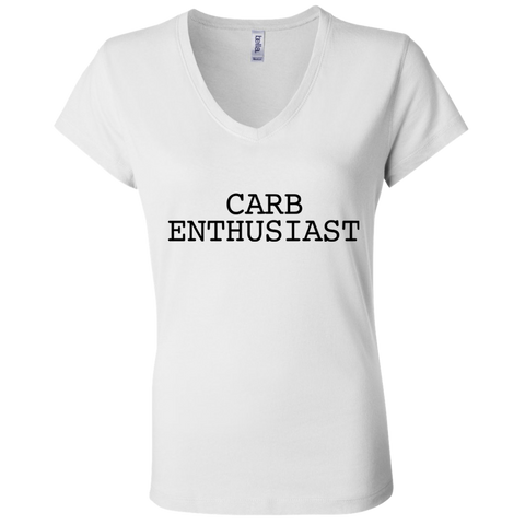 Carb Enthusiast / Bella + Canvas Ladies' Jersey V-Neck T-Shirt