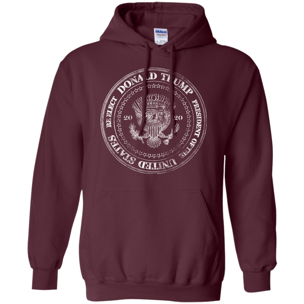 Re-Elect Donald Trump Presidential Seal Hoodie