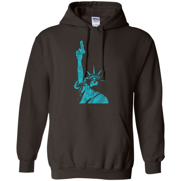 Statue Of Liberty Bearing Arms Hoodie